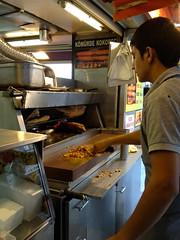 Kebabje wordt voor ons gemaakt!