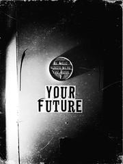 Your Future (plasticfootball) Tags: stlouis missouri cherokeestreet bentonparkwest noirfilter fortunemachine fortunetellerbar uploaded:by=flickrmobile flickriosapp:filter=noir