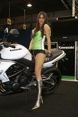 dsc09906 (themax2) Tags: girls bike expo legs verona motor 2009 promotora motorbikeexpo