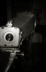 The 13x18 everyday camera (O9k) Tags: bw film analog 35mm studio lomo lca lomography analogue bellows largeformatcamera cameraporn russiancamera selfdeveloped homedeveloping kodakhc110 russianlens minitar1 pecoplaubel