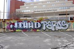 JIHAD, PEROS (STILSAYN) Tags: california graffiti oakland bay east area jihad 2014 peros