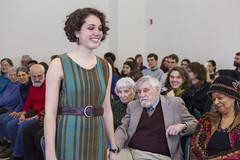 20140202__MG_4910_Yarn_To_Garment (Pat Kilkenny) Tags: ohio color wool fashion yarn fabric weaving weave oberlin garment 2014 oberlincollege 13thannual betsybruce yarntogarment