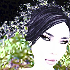 Belle (LoneSolitarian) Tags: life light shadow portrait people woman art nature girl beauty female dark landscape photography photo 3d model scenery feminine avatar gimp charm romance sl human secondlife virtual attractive second belle serene lovely sim firestorm windlight