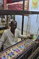 Silk Weaver (BrianRope) Tags: india varanasi
