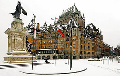 One of our Grand Hotels (John A. McCrae) Tags: canada hotel quebec railway quebeccity chateau chateaufrontenac cpr oldquebec samueldechamplain