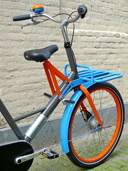 WorkCycles Fr8 Uni 7022-2004-5015 2 (@WorkCycles) Tags: blue orange dutch amsterdam bike bicycle brooklyn grey kid child transport special custom carrier racks fiets workbike fr8 stadsfiets transportfiets moederfiets workcycles papafiets
