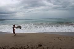 Costa Rica Travel and Yoga (bobbyschimmel) Tags: ocean travel sunset costa beach yoga costarica peace pacific dolphin rica dolphins caribbean puravida namaste yogini beachyoga sightseeting costriica