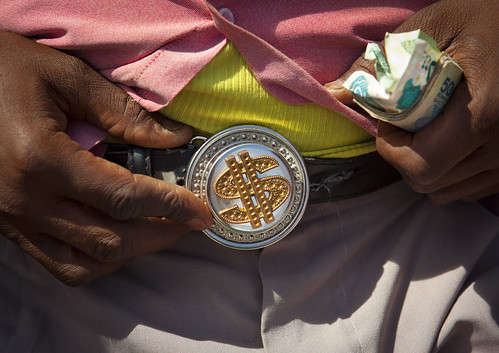 A Belt Buckle With A Dollar Sign, Hargeisa, Somaliland