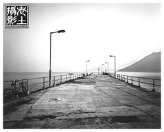 TaiO dock in the early morning (lotophotos) Tags: speed stand graphic kodak large hong kong epson format f56 rodinal fujinon perfection swd graflex 320 1100 taio 65mm txp v700 lotophotos wwwlotophotoscom