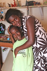 Healing hug: Counsellor Cathy Kakande empowers HIV-positive children with medicine, information and lots of love. Credit: Amy Fallon/IPS (IPS Inter Press Service) Tags: africa children health uganda hivaids arvs
