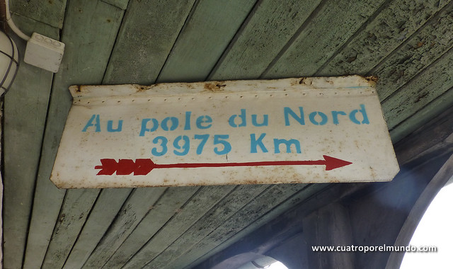 Solo 3975 Kmts. al polo norte. Si está ahi mismo!