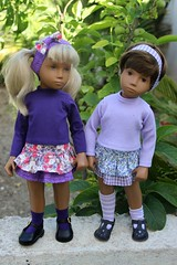 More ra-ra sets.... (dambuster01) Tags: 1969 girl vintage 1971 dolls kilt sewing vinyl skirt brunette sets rara sashamorgenthaler sharoninspain dambuster01