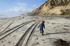 Black's Beach (Conor F. Shine) Tags: blacksbeach childhood running cliffs sand lajolla