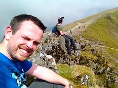 Double Selfie op Mt Snowdon