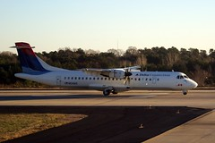 N641AS (airlines470) Tags: airport atl delta atlantic msn southeast airlines 72 connection 387 atr 72212 n641as eisll okyft