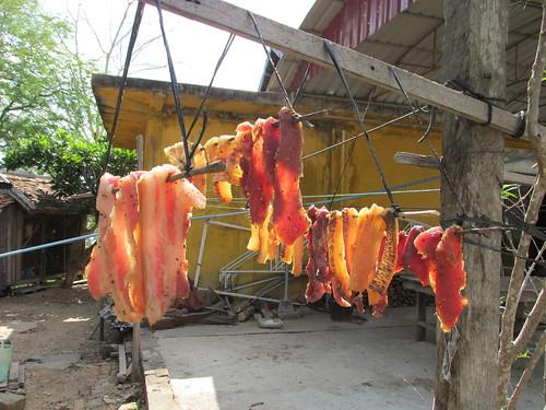 Viande séchée Cambodge