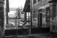Rusty Gate f/2, 1/250 sec., ISO 100, 24mm (Andrea Gracis Photography) Tags: street original urban white black canon photography iso100 photo italian gate photographer andrea rusty photographers content photoblog artists 7d 24mm radar tumblr gracis andreagracis