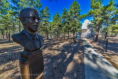 Lowell Observatory - Tombaugh Bust (Amazing Sky Photography) Tags: canada alberta pluto clydetombaugh planetx lowellobservatory astrograph