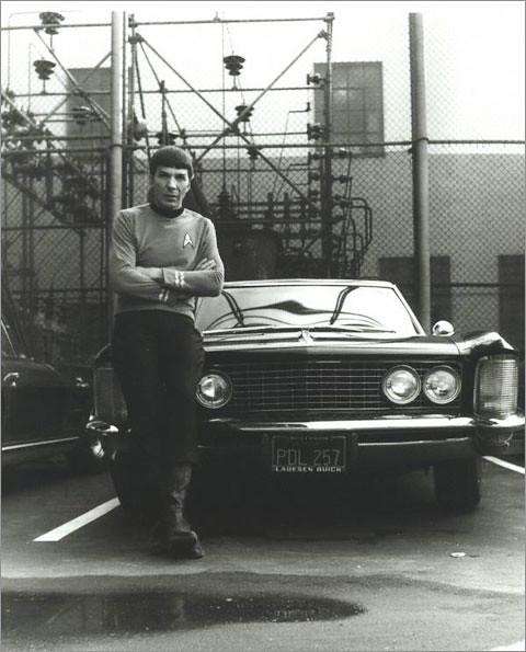 Leonard Nimoy & his Buick Riviera