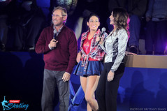 Bart Conner, Taylor Spears and Nadia Comaneci