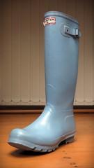 Powder Blue (essex_mud_explorer) Tags: rain vintage boots gates rubber wellington hunter wellingtonboots welly wellies rubberboots powderblue rainwear gummistiefel wellingtons gumboots rainboots madeinscotland hunterwellies rubberlaarzen hunterboots