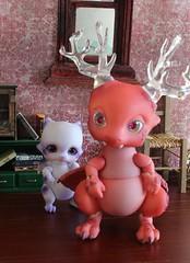 Chime #13 (Arthoniel) Tags: baby rot miniature doll dragon violet seed pico tiny laboratory bjd resin rement limited fairyland diorama lapis myst morrow chime sirrus icis achenar fairylanddoll pukifee aileendoll