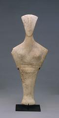 Idole cycladique - Type de Chalandriani  - Cycladique ancien II - 2700-2300 (M. Agrippa) Tags: cyclades idole