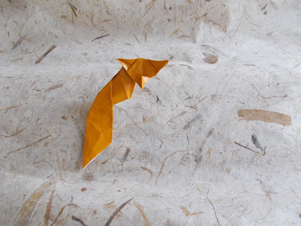 Advanced Origami Fox Instructions Diagram 3d Product Wiring Diagrams Images Gallery
