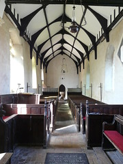 Wooden Ribbed (mdavidford) Tags: wood roof church ribs font pews beams oillamps norfolkbroads thurne stedmund