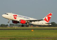 OK-MEK (cn 3043) (RuWe71) Tags: planes takeoff ams spotting csa schipholairport eham a319 czechairlines airbusa319 civilaviation amsterdamschiphol a319112 hamburgfinkenwerder xfw okmek davwl