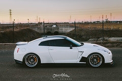 Beautiful! Nissan R35 (#StyleMatters) Tags: white japan modern japanese nissan low clean streetcar supercar lowered jdm slammed gtr stance lowlife r35 stanceworks stancenation japannostalgia