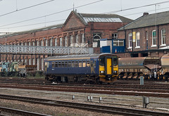 Northern 153332 West Yard Doncaster (dgh2222) Tags: west yard north trains western northern doncaster livery 153332