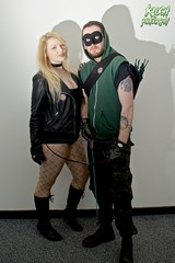 IMG_0660 (Neil Keogh Photography) Tags: black male green female comics dc pants mask boots top jacket gloves hero blonde hood canary cosplayer dccomics armour leatherjacket blackcanary leotard jumpsuit merc fishnetstockings mercenary greenarrow bowarrow leathergloves leatherboots salfordcomiccon2016