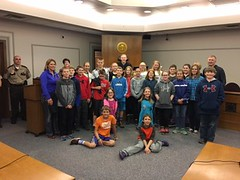 Albany DARE students (Stearns County MN) Tags: county students court albany judge courthouse dare stearns 2016