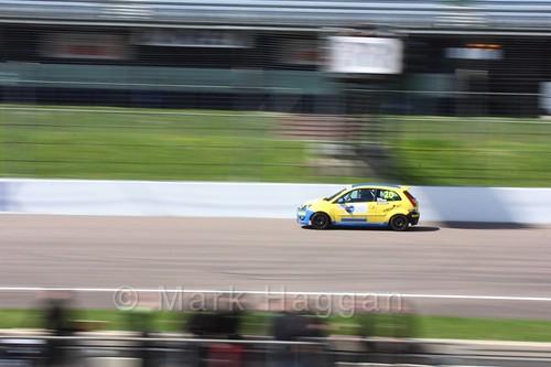 Ronan Quinn in Fiesta Junior Racing during the BRSCC Weekend at Rockingham, May 2016