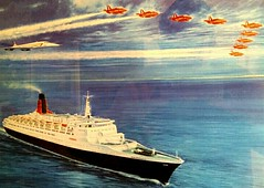 Best Of British (Gary Chatterton 2.90 million views) Tags: sea air concorde qe2 bestofbritish theredarrows