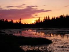 Sunset Ingraham Trail (ArcticCoyote) Tags: sunset summer canada nwt arctic midnightsun yellowknife