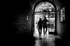 Copenhagen Street (Bo Hvidt) Tags: street blackandwhite bw monochrome copenhagen blackwhite streetphotography nik xt1 silverefex bohvidt nikcollection xf27mm fujinonxf27mmf28 fujifilmxt1