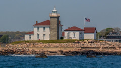 Watch Hill Light (Prince Bart) Tags: newengland eos 7dmarkii newlondon flag lighthouse canon waterfront ct connecticut