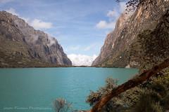 Glacial Lake (Jason Pineau) Tags: lake mountains peru water cliffs blanca valley huaraz glacial cordilliera