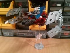 """Vulture"" Mode (Ddke) Tags: sisters lego twin bionicle vahki"