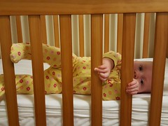 Escape attempt (quinn.anya) Tags: paul baby pajamas bed escape bars