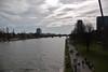 Frankfurt (horschte68) Tags: pentax k100d frankfurt urban life 20130414 ufer 145004 shore frankfurtammain river fluss composition blickwinkel angle perspektive perspective pointofview view outlook outdoor aussicht aussen drausen citylife cityscape