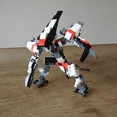 DSCN6718 (alfa145q_lego) Tags: lego legocreator vehicletransporter 31033 alternate futureflyers 31034 mecha rebuild