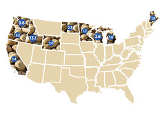 Top 10 Potato-Producing States (CHS Inc) Tags: farming coop farmer rancher chs ranching cooperative chsincagriculture