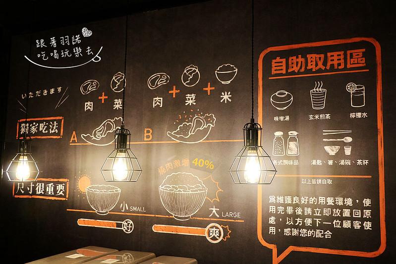 開丼燒肉vs丼飯-微風松高店019