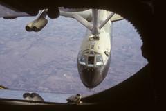 Full Service (twm1340) Tags: film 35mm slide olympus transparency kodachrome boeing bomber om1 tanker b52 kc135 stratofortress b52h kc135a