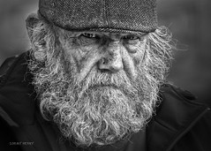 Street Portrait - Our thoughts are the precursors of everything we do. What we constantly tell ourselves will happen. (Louay Henry) Tags: portrait people urban blackandwhite man monochrome face closeup beard sketch blackwhite eyes nikon candid character homeless sydney streetphotography streetportrait australia streetlife oldman human portraiture tamron candidportrait d610 streetcandid streetportraiture tamron70200mmvc tamronsp70200mmf28vcusd nikond610