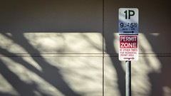 Permit Zone (Theen ...) Tags: 1p 9am530pm adelaide arrows atothertimes bare beige branches forresidentialpermitarea goverstreet green lines lumix monfri north permitzone red residential shadow signpost suburban taupe theen trees white