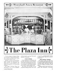 Vacationland Fall 1965 07 - The Plaza Inn (Tom Simpson) Tags: vintage disneyland disney 1960s vacationland 1965 plazainn vintagedisneyland vintagedisney theplazainn